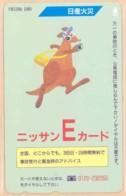 JAPAN Telefonkarte -FD 110-03274 - Känguru  - Siehe Scan - Sonstige
