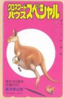 JAPAN Telefonkarte - 110-015- Känguru  - Siehe Scan - Sonstige
