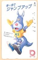 JAPAN Telefonkarte - 110-011- Känguru  - Siehe Scan - Sonstige