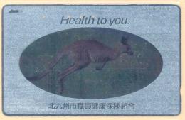 JAPAN Telefonkarte - 390-2680 - Känguru  - Siehe Scan - Sonstige