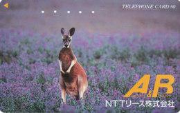 JAPAN Telefonkarte - 110-011 - Känguru  - Siehe Scan - Sonstige