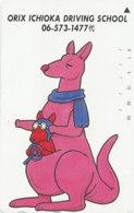 JAPAN Telefonkarte - 110-016 - Känguru  - Siehe Scan - Sonstige