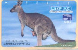JAPAN Prepaidkarte -  Känguru  - Siehe Scan - Sonstige