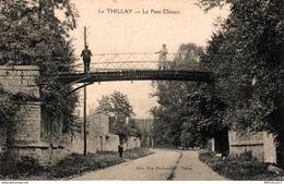 2764-2019    LE THILAY  LE PONT CHINOIS - Altri Comuni