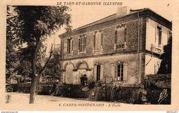 2824-2019   CAZES MONDENARD   L ECOLE - France