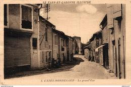 2825-2019   CAZES MONDENARD  LA GRAND RUE - France