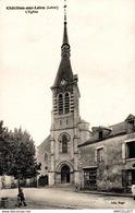 2960-2019   CHATILLON SUR LOIRE  L EGLISE - Chatillon Sur Loire