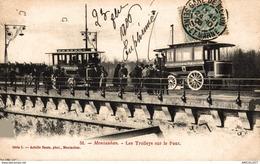 3300-2019    MONTAUBAN     LES TROLLEYS SUR LE PONT - Montauban