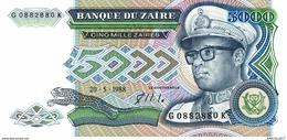 6836-2019    BILLET DE BANQUE ZAÏRE - Zaire
