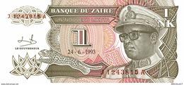 6858-2019    BILLET DE BANQUE ZAÏRE - Zaire
