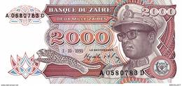 6865-2019    BILLET DE BANQUE ZAÏRE - Zaire