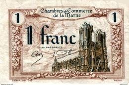 6887-2019    BILLET CHAMBRE DE COMMERCE  DE LA MARNE - Chambre De Commerce