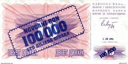 8719-2019    BILLET DE BANQUE  BOSNIE HERZEGOVINE - Bosnië En Herzegovina