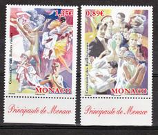 Monaco 2684 2685 Ballets 2009 TB ** MNH SIN CHARNELA Prix De La Poste 2.24 - Unused Stamps