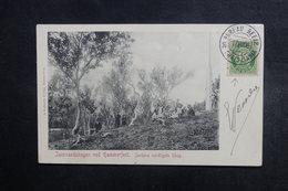 """NORVÈGE - Oblitération """" Bureau De ChristianIa Reexp. """" Sur Carte Postale En 1906 Pour La France - L 40700 - Briefe U. Dokumente"""