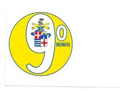 9° BRENNERO- Adesivo Su Cartolina - Altri