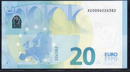 20 EURO GERMANY  X001 SERIE XZ000  UNC - EURO