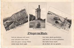 Bingen Am Rhein 3 Bilder Kartenvers Gl1952 #49.454 - Germany