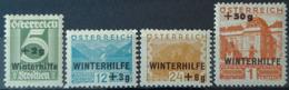 AUSTRIA - MLH - ANK 536-566 - Winterhilfe - Ungebraucht