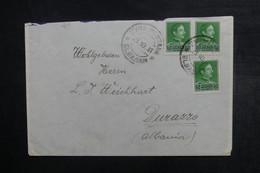 ALBANIE - Enveloppe De Elbasam Pour Durasso En 1931, Affranchissement Plaisant - L 40712 - Albanien