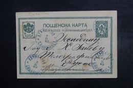 BULGARIE - Entier Postal Voyagé En 1889, à Voir - L 40713 - Postkaarten