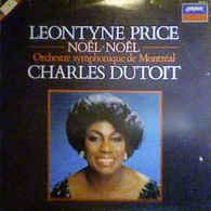 Léontyne Price Avec OSM De Charles Dutoit- Noel Noel - Klassik