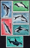 Falkland Islands - 1980 - Dolphins And Porpoises - Mint Stamp Set - Falklandeilanden