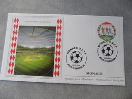 FDC (2) MONACO 2014 : Coupe Du Monde De Football Brésil 2014 - FDC