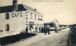 890.  SUBLAINES. Le Café Gauthier - Francia