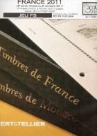FEUILLES FRANCE YVERT Et TELLIER 2011 2e Semestre - Albums & Binders