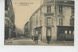 ARGENTEUIL - La Grande Rue (Banque SOCIETE GENERALE ) - Argenteuil