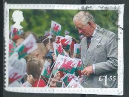 GROSSBRITANNIEN GRANDE BRETAGNE GB 2018 FROM M/S 70TH BIRTHDAY OF HRH CHARLES: IN WALES £1.55 SG 4163f MI 4250 YT 4728 - 1952-.... (Elizabeth II)