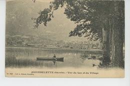 AIGUEBELETTE - Vue Du Lac Et Du Village - France