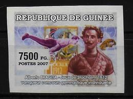 GUINEE  N° ( 2007 ) * * NON DENTELE  Gymnastique Braglia - Gymnastik