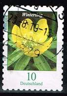 Bund 2018, Michel# 3430 O Blumen Winterling Selbstklebend, Self-adhesive - [7] République Fédérale