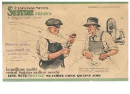 BUVARD : ETABLISSEMENTS SISTRE FRERES SAINT JULIEN LES VILLAS (Aube) - Buvards, Protège-cahiers Illustrés