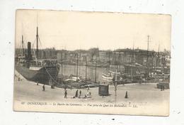 Cp, 59 , DUNKERQUE , Le Bassin Du Commerce , Vue Prise Du Quai Des Hollandais ,  Vierge - Dunkerque