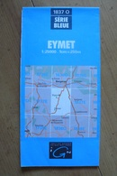 Carte Topographique IGN - 1837 Ouest - Eymet (Dordogne) - 1:25 000 - Topographical Maps