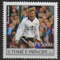 ST THOME ET PRINCE  N° 1945 * * ( Cote 6e )  Jo 2008 Football Soccer Fussball Beckham - Fussball