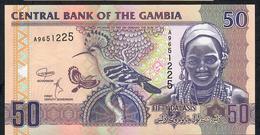 GAMBIA  SEE SIGNATURE ! P28d 50 DALASI 2018 #A  Signature 7 UNC. - Gambia