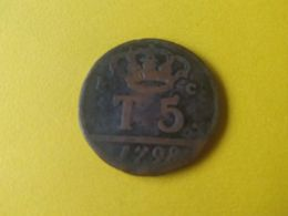 5 TORNESI 1798 - Monete Regionali