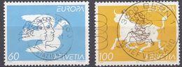 HELVETIA - SUISSE - SVIZZERA - 1995 - Serie Completa Usata Composta Da 2 Valori: Yvert 1480/1481. - Usati