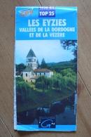 Carte Topographique IGN - 1936 ET Compatible GPS - Les Eyzies (Dordogne) - 1:25 000 - Cartes Topographiques