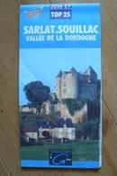 Carte Topographique IGN - 1936 ET Compatible GPS - Sarlat Souillac (Dordogne) - 1:25 000 - Cartes Topographiques
