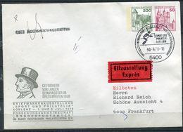 """Germany 1978 Privatganzsache Dressurreiten Mi.Nr.PU ???? Mit SST""""Koblenz-Sport Und Philatelie""""1GS Used - Reitsport"""