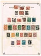 Canada - Ancienne Collection Sur Feuilles D'époque. - Collections (sans Albums)