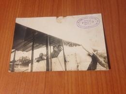 DEAUVILLE - CARTE PHOTO ( Service Photo Officiel ) -  Aérodrome , Promenade Aérienne 1919  (port à Ma Charge ) - Deauville
