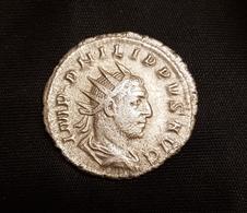 Antoniniens Philippe AEQUITAS - 5. The Military Crisis (235 AD Tot 284 AD)