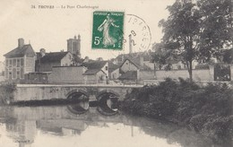TROYES: Le Pont Charlemagne - Troyes