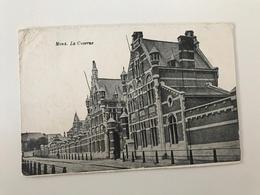 Carte Postale Ancienne (1928)  MONS  La Caserne - Mons
